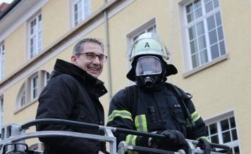 Hauptübung Feuerwehr Tettnang