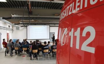 Führungskräftefortbildung der Feuerwehr Tettnang